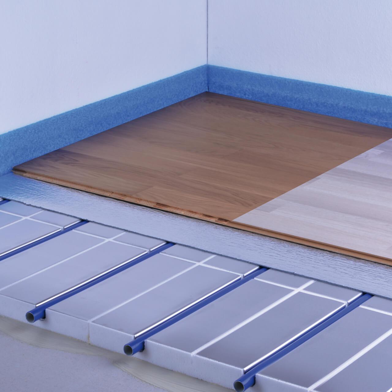 erweiterung fußbodenheizung für laminat & fertigparkett