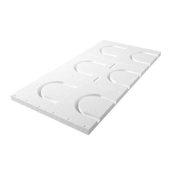 Kopfelement für QuickTherm Fußbodenheizung